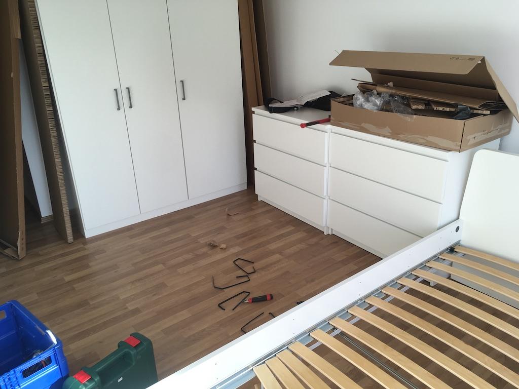 Montáž ložnice Ikea – Pardubice