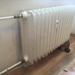 Zastavení tekoucí vody z radiátoru – Pardubice