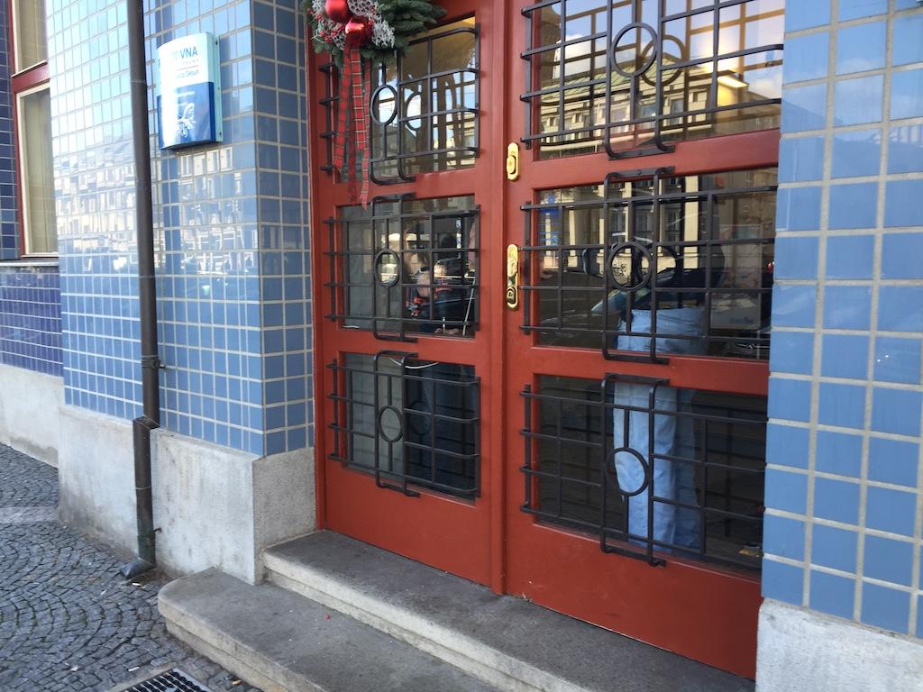 Výměna ska dveří Grand Pardubice