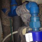Výměna kulového uzávěru vody na starý plast Chrudim