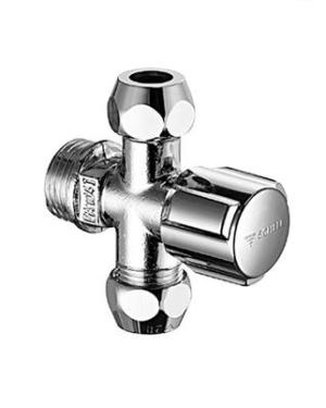 Schell – Comfort Ventil rohový se dvěma vývody 1/2″ x 3/8″