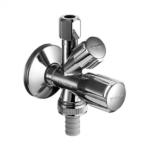 Schell – Comfort Ventil rohový kombinovaný se zpětnou klapkou 1/2″ x 3/4″ x 3/8″ bez matky