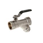 Comap – Kohout kulový STH348 s filtrem, s pákou FF 3/4″, PN 16
