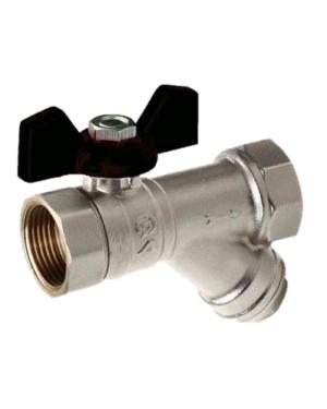 Comap – Kohout kulový STH348M s filtrem, s motýlem FF 1″, PN 16
