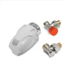 Comap – SET radiátorový Klasik rohový 1/2″ s termostatickou hlavicí W5-RI