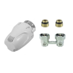 Comap – SET radiátorový Kompakt přímý 1/2″ x 3/4″ EK s termostatickou hlavicí W5-RI