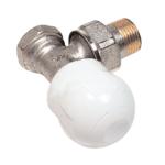 Comap – Ventil radiátorový Focus 498 rohový, bez přednastavení 1/2″