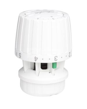 Danfoss – Hlavice termostatická RA 2940 s klipem, 0 – 26°C, bílá