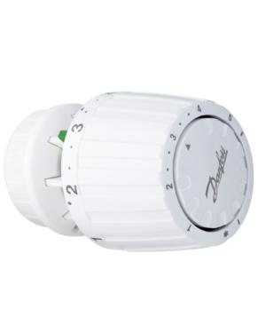 Danfoss – Hlavice termostatická RA 2980 s klipem, 5 – 26°C, bílá