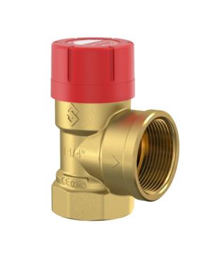 Flamco – Ventil pojistný Prescor pro topení a chlazení 3/4″ x 3/4″, 2,5 bar