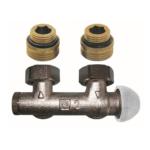 Herz – Ventil termostatický 3000 dvoutrubkový, rohový 1/2″ x 3/4″, M30 x 1,5