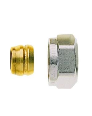 IMI Heimeier – Šroubení svěrné pro měděné trubky 18 mm, pro vnější závit 3/4″ EK