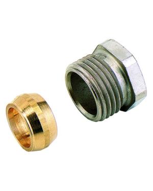 IMI Heimeier – Šroubení svěrné pro měděné trubky 16 mm, pro vnitřní závit 1/2″