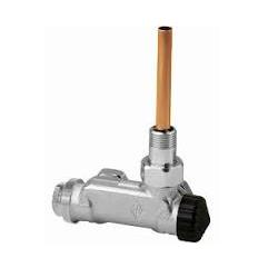 IMI Heimeier – Ventil termostatický E-Z jednobodový, rohový pro dvoutrubkové sestavy 1/2″ x 3/4″ EK