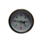 Thermis – Teploměr topenářský 0-120°C, ø 80 mm, L 50 mm