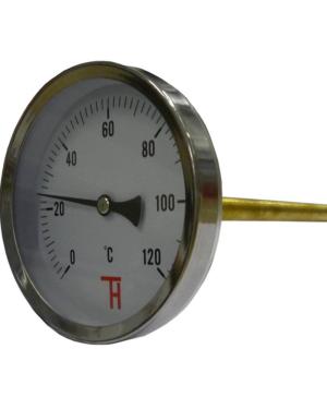 Thermis – Teploměr topenářský 0-120°C, ø100 mm, L 150 mm