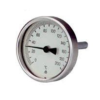 Thermis – Teploměr topenářský 0-200°C, ø100 mm, L 100 mm