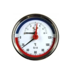 Thermis – Termomanometr zadní 3082 ø 80 mm, 1/2″, 0-120°C/0-6 bar