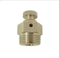 Ventil odvzdušňovací ruční, kovové kolečko 1/2″