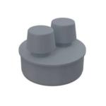 Alcaplast – Hlavice přivzdušňovací PP dvojitá 110 mm