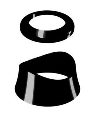 Comap – Prvky dekorativní MYSENSO pro hlavici SENSO-2013 černé