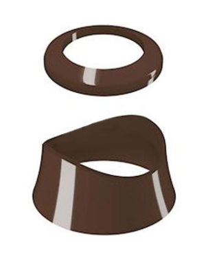 Comap – Prvky dekorativní MYSENSO pro hlavici SENSO-2013 čokoládové