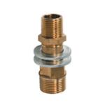 Novaservis – Prodloužení mosazné do bytového jádra MM 3/4″ x 1/2″ x 75 mm