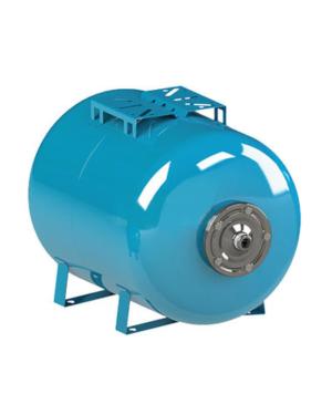 Cimm – Nádoba expanzní ležatá AFESB CE 100 l, 1″, 10 bar, 100°C, 460 x 780 mm, modrá