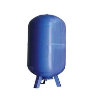 Cimm – Nádoba expanzní stojatá AFE CE 150 l, 1″, 10 bar, 100°C, 510 x 1030 mm, modrá