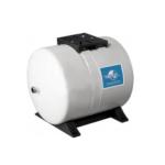 Global Water Solutions – Nádoba expanzní ležatá PWB 100LH, 100 l, 1″, 10 bar, 90°C, 475 x 720 mm, bílá