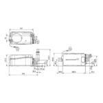 Grundfos – Stanice přečerpávací Sololift2 D-2, pro umyvadlo, sprchový kout, bidet