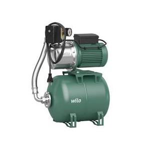 Wilo – Vodárna domácí s tlakovou nádobou s vakem HWJ 202 EM 20 l, 230 V, 1″, Qmax=4,5 m³/h, Hmax=37 m
